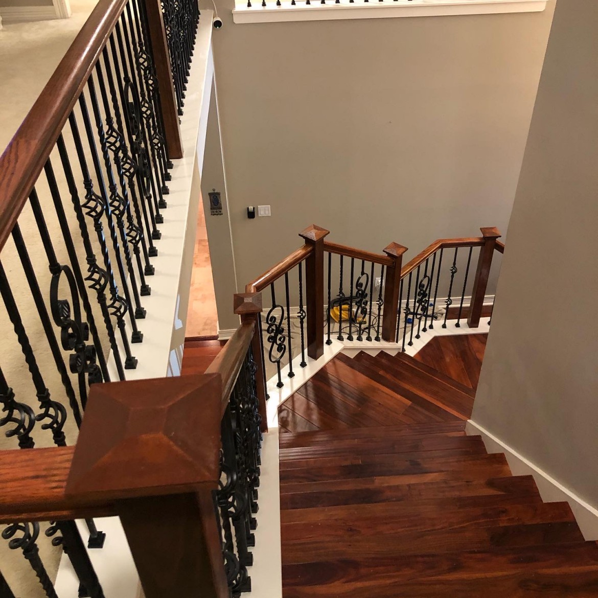 Project #23 - Sugar Land City Texas - Stair Balusters Remodeling
